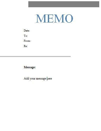 standard memo templates professional incident reporting