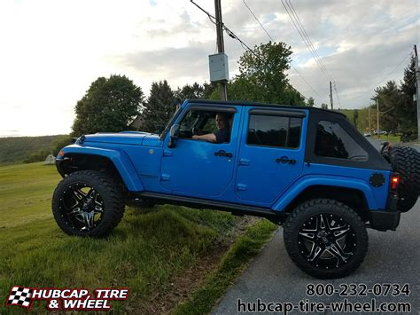 jeep fuel wheels 2015 jeep wrangler 22 fuel d254 blown wheels