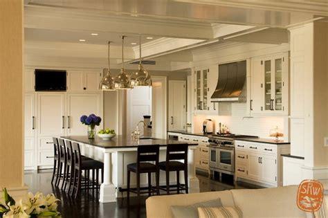 tv in kitchen cabinet built in tv niche transitional kitchen shope reno