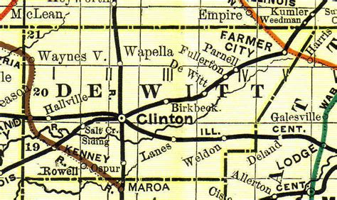 Dewitt County Records Dewitt County Illinois Genealogy Vital Records Certificates For Land Birth