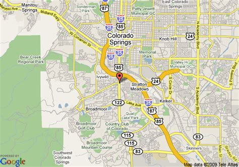 colorado springs tourist attractions map travelodge colorado springs south colorado springs deals