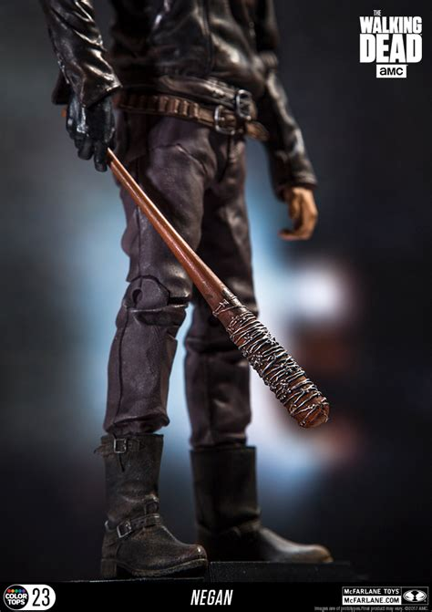 Mcfarlane Toys The Walking Dead Tv Negan 7 Figure 12 the walking dead tv series negan 7 inch bloody exclusive
