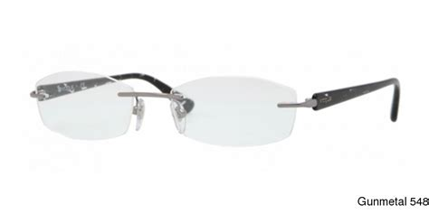 buy vogue vo3797 rimless frameless prescription eyeglasses
