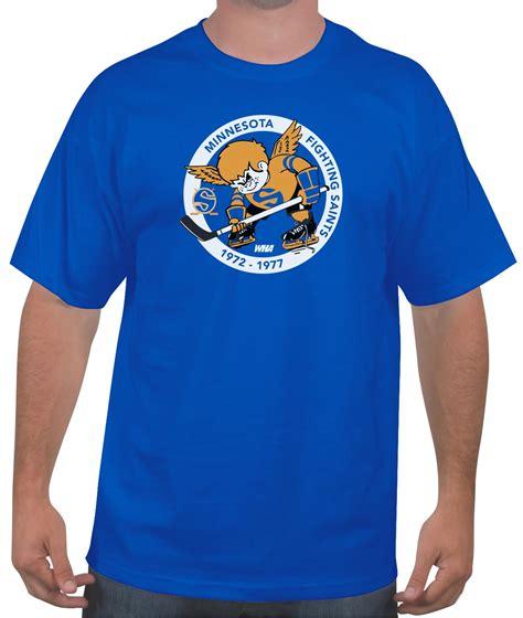 Tshirt Minieset Driver White Original buy the minnesota fighting saints hockey t shirt wha 1972 1977