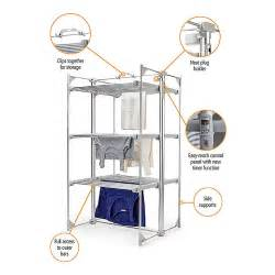 3 Tier Electric Heated Clothes Laundry Airer Dryer Buy Lakeland Soon Deluxe Electric 3 Tier Heated Indoor