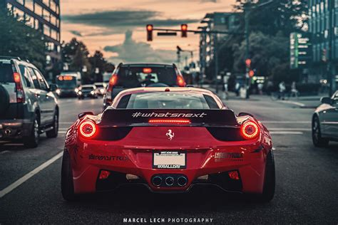 mobile de italiano auto featured fitment liberty walk 458 with pur wheels
