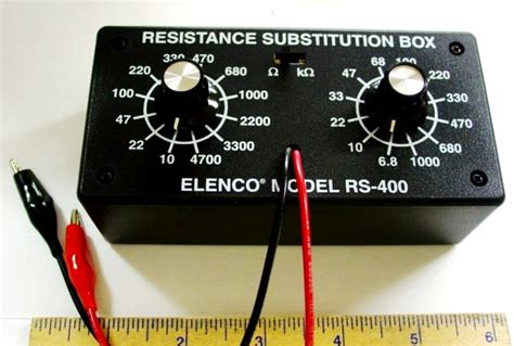 resistor substitution box rs 500 electronics plus to find parts and accessories available and ready to ship