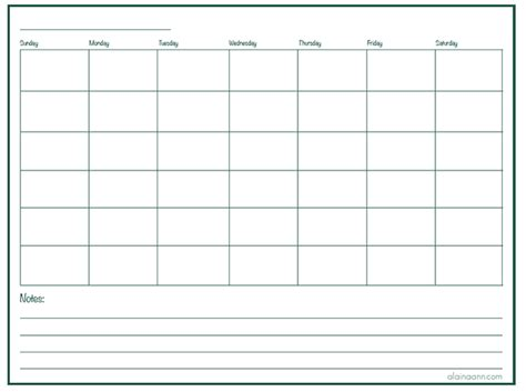 helpful blank monthly calendars kittybabylovecom