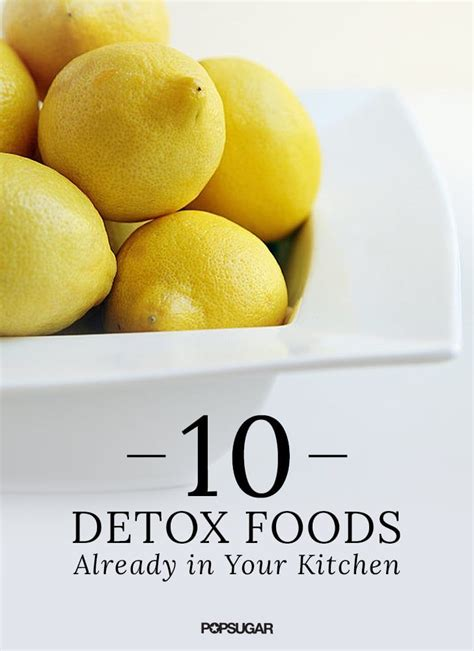 Healthy Foods That Detox Your by 10 Ways To Help Detoxify The