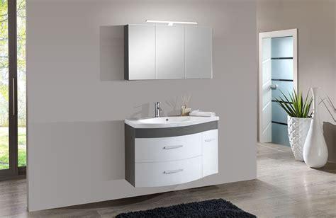 badezimmer 0 finanzierung sam 174 2tlg badezimmer set hochglanz wei 223 grau 110cm lugano