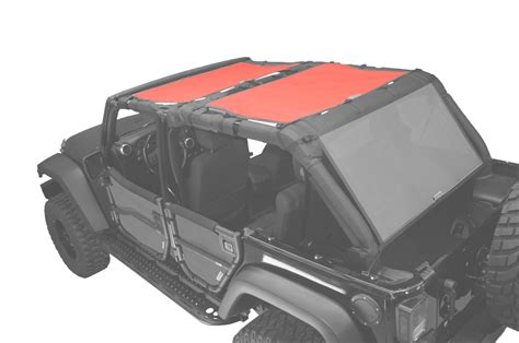 jeep jk unlimited rear seats sun screen for jeep wrangler jk 4 door 2 pc front and back