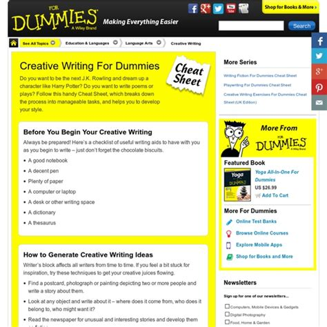 How To Write An Essay For Dummies by Essays For Dummies Need Help Writing Analytical Essay