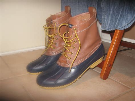 lands end boots lands end canvas duck boots think mcqueen