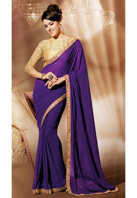 Simple Bordir Blouse blouse designs for plain saree top blouse designs