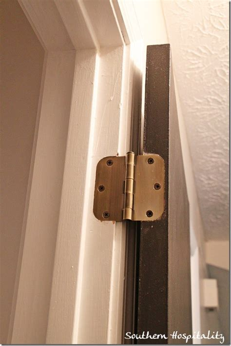 Interior Door Hinge Installation How To Install New Door Knobs And Hinges
