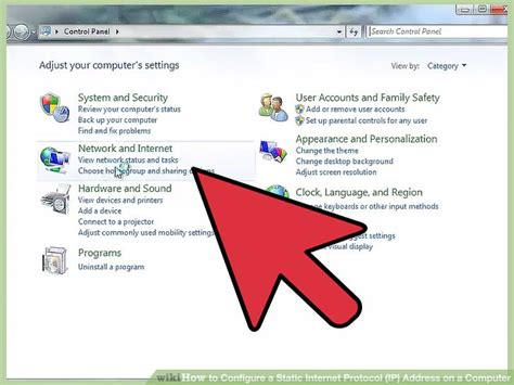 how to configure ip on network how to configure a static protocol ip address