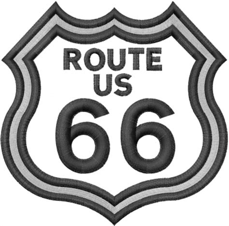 embroidery design route 66 route 66 embroidery design from machine embroidery designs