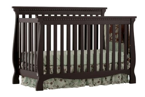 Side Rails For Convertible Crib Stork Craft Venetian 4 In 1 Fixed Side Convertible Crib Black Shop Your Way Shopping