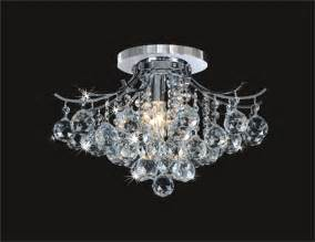 Semi Flush Mount Chandelier 16 Quot Small Empire Ceiling Semi Flush Mount Crystals Light
