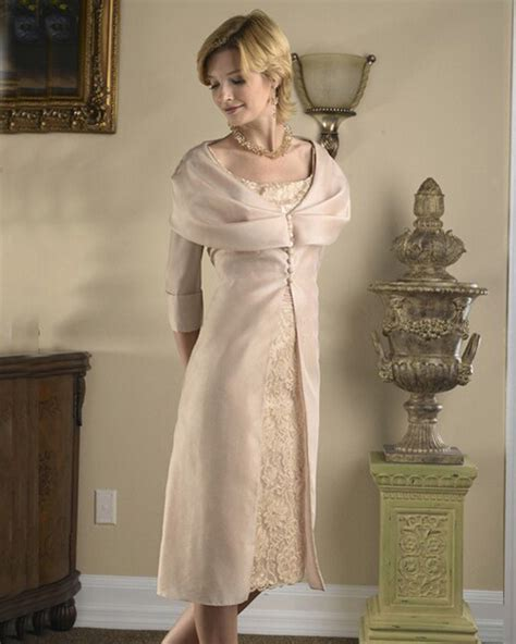 country style of the groom dresses knee length sleeve taffeta vintage lace of