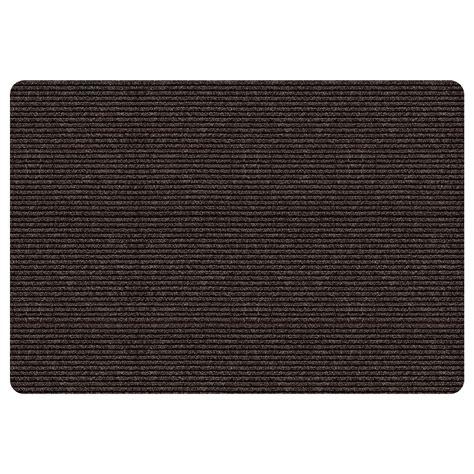 kmart indoor outdoor rugs essential home indoor outdoor rug 36 x 48 brown stripe