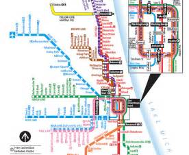 Chicago L Blue Line Map by Cta Train Lines Map Bing Images