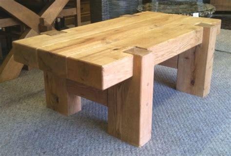 Railway Sleeper Garden Table by Furniture From Oak Railway Sleepers Carpinter 237 A