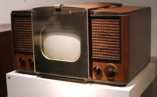 what year did the color tv come out the trajectory of television starting with a big history