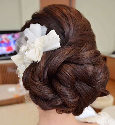 Wedding Hairstyles Buns Pictures by Bridal Hairstyles Buns 19 Indian Makeup And