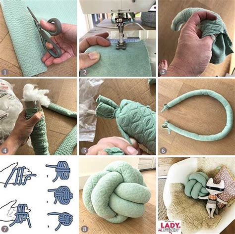 diy knot pillow 25 best ideas about knot pillow on pinterest fleece