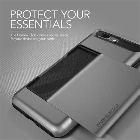 Verus Iphone 7 Damda Glide Steel Silver Murah vrs design damda glide iphone 7 plus steel silver