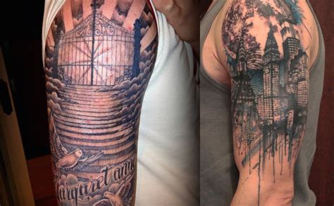 25 Half Sleeve Tattoo Designs For Men Feed Inspiration Half Sleeve Inspiration