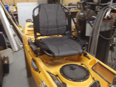 hobie kayak seat modifications airpro seat and a hobie adventure