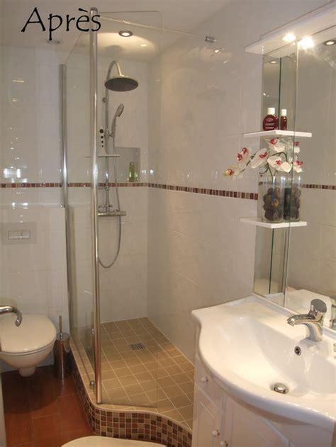 réaménagement salle d'eau 3m2