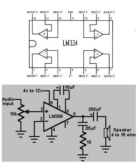 lm324 application circuit diagram image gallery lm324 applications