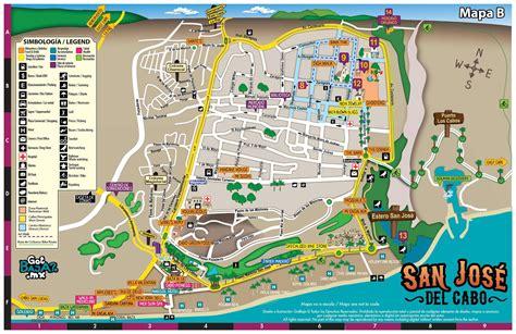 san jose del cabo map of the city of san jose del cabo travel pinterest