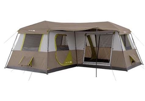 12 Person Large Camping Tent 3 Rooms Hiking Family Cabin Trail Hunting NEW   eBay