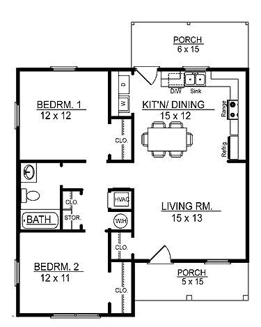 country house plan with 1558 square feet and 3 bedrooms floor plans aflfpw17415 1 story cottage home with 2