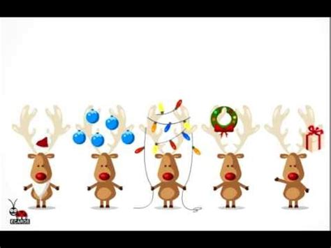deers funny animated  card youtube