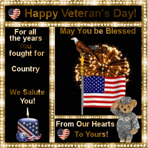 Happy Veterans Day To Army Soldier Free Greeting Card Template by Veterans Day Cards 2018 Happy Veterans Day 2018 Greeting