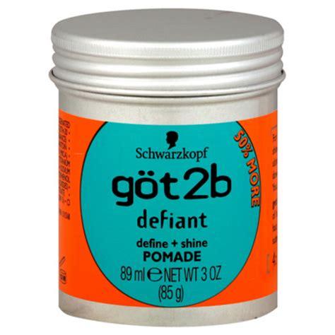 Pomade Got2b got2b defiant define shine pomade