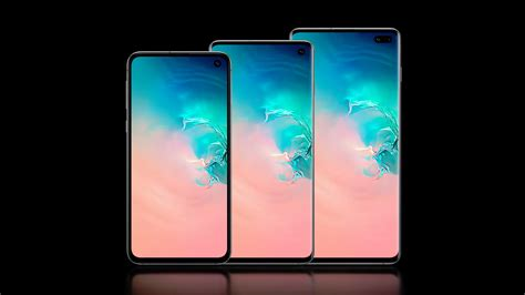 Samsung Galaxy S10 Lineup by Samsung Galaxy S10 Galaxy S10 Plus Galaxy S10e With Punch Displays Revealed Technology