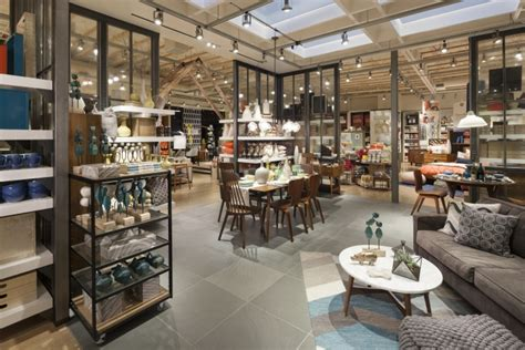 furniture home decor store west elm home furnishings store by mbh architects alameda