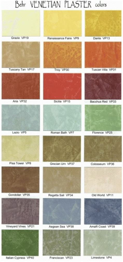 behr venetian plaster colors kitchen