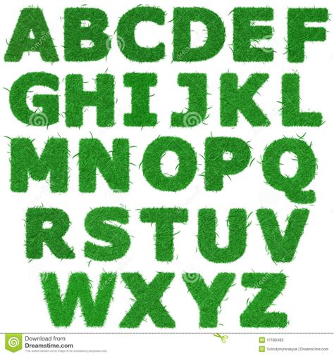 tutte le lettere dell alfabeto tutte le lettere dell alfabeto dell erba verde fotografie