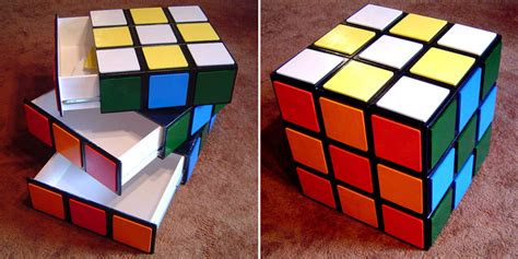 How To Make A Paper Rubik S Cube - how to make rubik s cube chest of drawers diy crafts