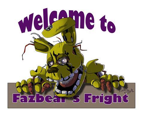 A Day S Fright fazbear s fright logo by ladyfiszi on deviantart