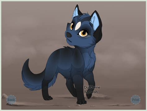 puppy creator puppy maker roan by fumblingwolfpaws on deviantart