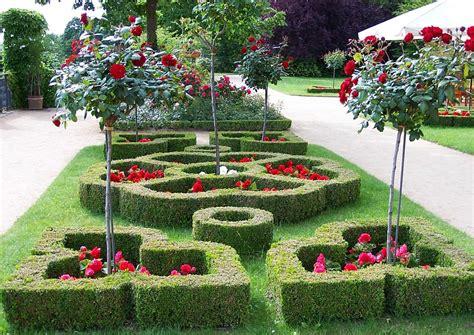 Bilder Zu Gartengestaltung 2700 by Knotengarten Aus Buchsbaum Heckenparterre Eine Form Des
