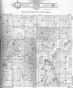 Michigan Plat Maps by Usgenweb Archives Branch County Mi Maps